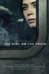 Meitene vilcienā plakāts