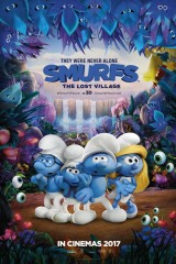 Smurfi: Zudušais ciemats plakāts