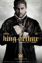 Karalis Arturs. Leģenda par zobenu plakāts