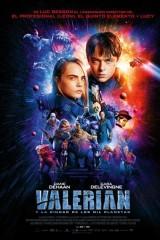 Valeriāns un tūkstoš planētu pilsēta plakāts