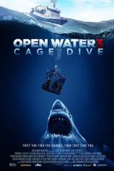 Starp haizivīm plakāts