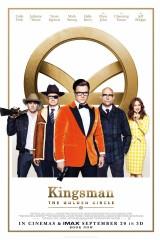 Kingsman: Zelta aplis plakāts