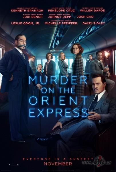 Filmas Slepkavība Austrumu ekspresī plakāts