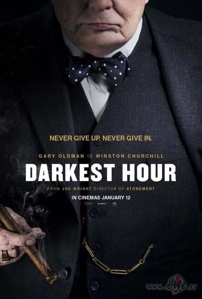 Filmas Tumšākā stunda plakāts