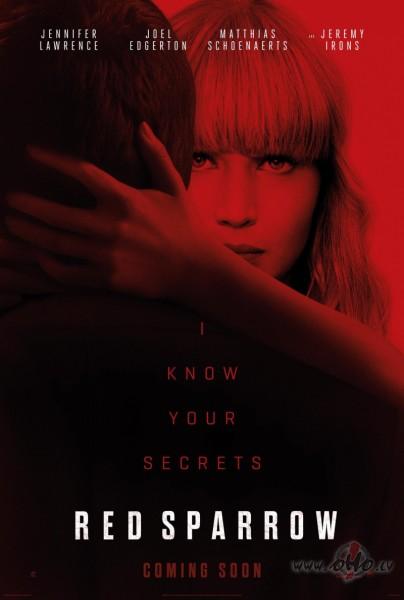 Filmas Sarkanais zvirbulis plakāts