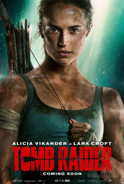 Filmas Kapeņu izlaupītāja Lara Krofta plakāts