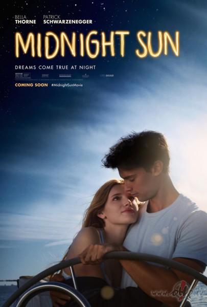 Filmas Pusnakts saule plakāts