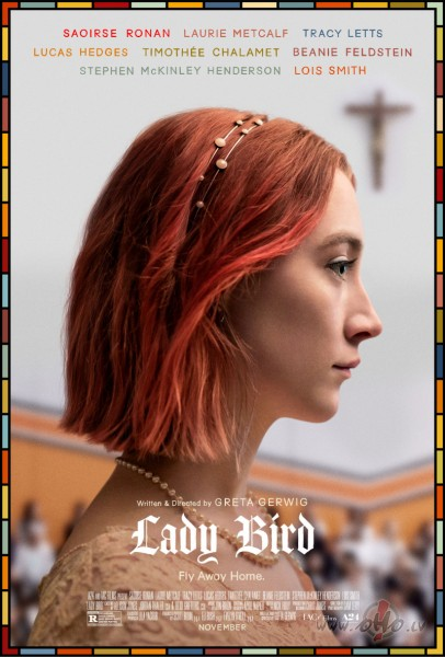 Filmas Lady Bird: Laiks lidot plakāts
