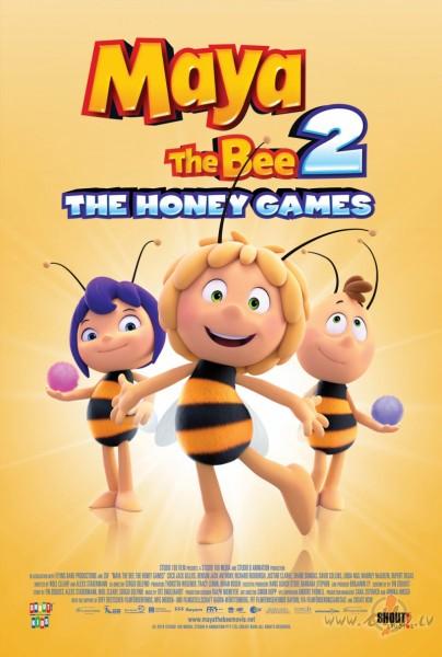 Filmas Bitīte Maija: Medus spēles plakāts