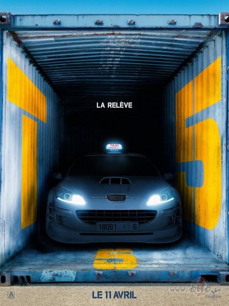 Filmas Taxi 5 plakāts