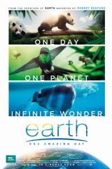 Zeme: viena brīnišķīga diena plakāts