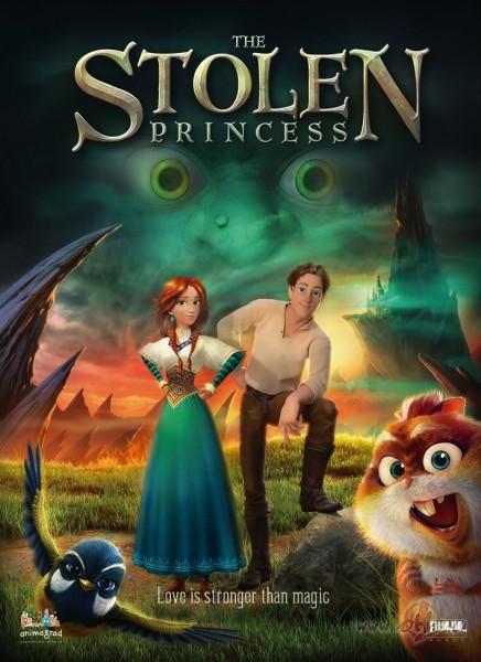 Filmas Nozagtā princese plakāts