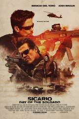 Sicario 2: Karteļu karš plakāts