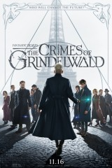 Fantastiskās būtnes: Grindelvalda noziegumi plakāts