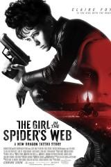 Meitene zirnekļa tīklā plakāts