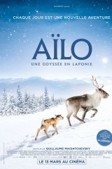 Mazā ziemeļbrieža Ailo lielais ceļojums plakāts
