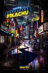 POKÉMON® Detektīvs Pikaču plakāts