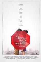 Lietaina diena Ņujorkā plakāts