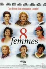 8 sievietes plakāts