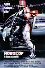 Robots policists plakāts