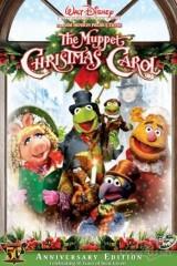 Leļļu šova Ziemassvētku dziesma plakāts