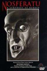 Nosferatu, šausmu simfonija plakāts