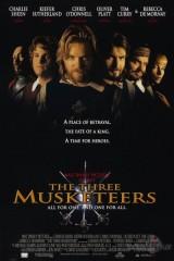 Trīs musketieri plakāts