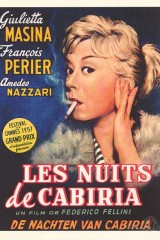 Kabīrijas naktis plakāts