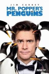 Popera kunga pingvīni plakāts