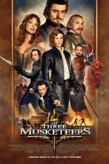 Trīs musketieri 3D plakāts