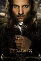 Gredzenu pavēlnieks: Karaļa atgriešanās plakāts