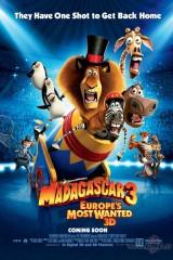 Madagaskara 3 plakāts