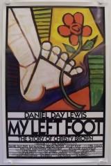 Mana kreisā kāja plakāts