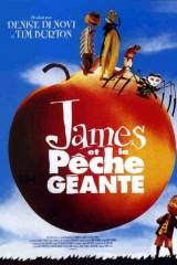 Džeimss un gigantiskais persiks plakāts