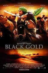 Melnais zelts plakāts