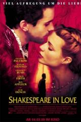 Iemīlējies Šekspīrs plakāts