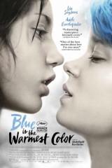 Zils ir vissiltākā krāsa plakāts