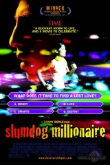Graustu miljonārs plakāts