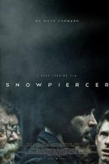 Caur sniegiem plakāts