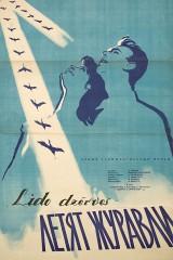 Lido dzērves plakāts