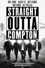 Straight Outta Compton plakāts