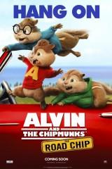 Alvins un burunduki: Diženais burunduļojums plakāts