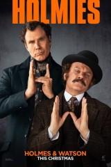 Šerloks Holmss un doktors Vatsons plakāts