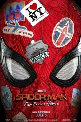 Zirnekļcilvēks: Tālu no mājām plakāts