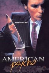 Amerikāņu psihopāts plakāts