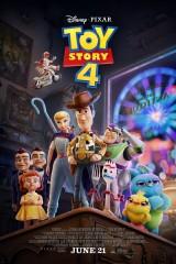 Rotaļlietu stāsts 4 plakāts