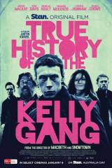 Patiess stāsts par Neda Kellija bandu plakāts