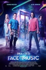 Bils un Teds nozog mūziku plakāts