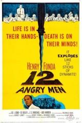 12 dusmīgie vīri plakāts