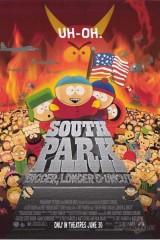 Dienvidparks: lielāks, garāks un neapgraizīts plakāts